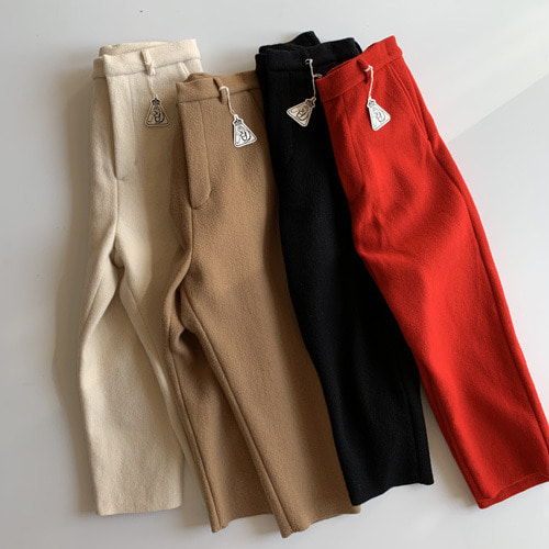 R&D.M.Co-  wool felt pants