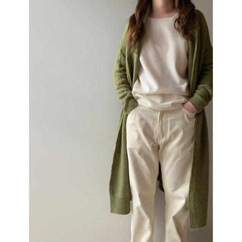 R&D.M.Co-  shaggy long cardigan