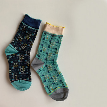 ribbon socks(2color)