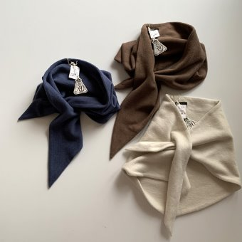 R&D.M.Co-  brushed waffle scarf