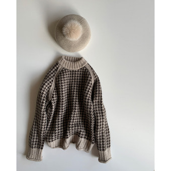 R&D.M.Co-  hand knit baby alpaca sweather
