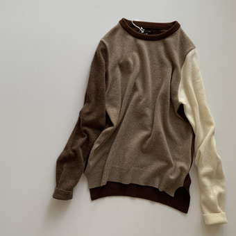 R&D.M.Co-  cashmere crew neck sweater(30%)