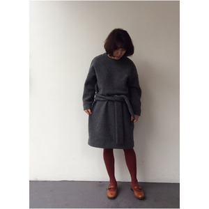 R&D.M.CO- wool felt op(차콜) 50%