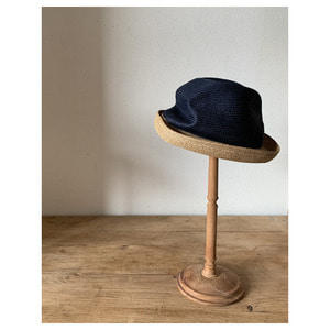 mature ha. boxd hat 7cm(네이비)