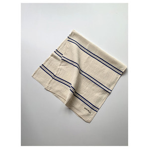 R&D.M.Co- freddy linen cloth blue line(58 X 120cm)