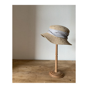 mature ha. JUTE drape hat(2color)