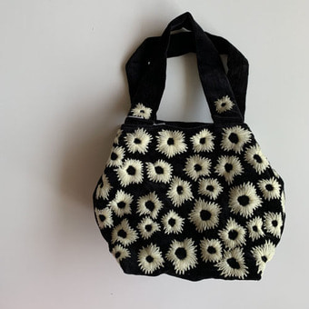 khadi and co embroidery bag