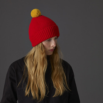 Jo gordon pompom hat