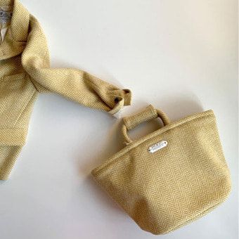R&D.M.Co-  herringbone marche bag