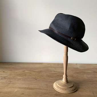 mature ha. boxd hat 6.5 brim leather belt(30%)