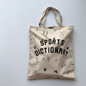 R&D.M.Co-  B.S print cotton bag