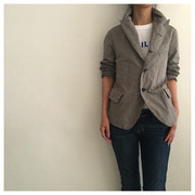 R&D.M.CO- garment dye jacket(gray)  30%