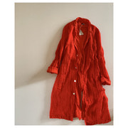 R&D.M.Co- linen gauze coat
