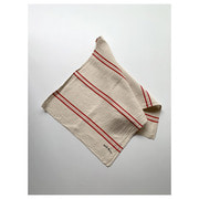 R&D.M.Co- freddy linen cloth red line(58 X 120cm)