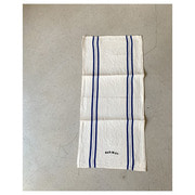 R&D.M.Co- freddy linen cloth blue line(33 X 71cm)