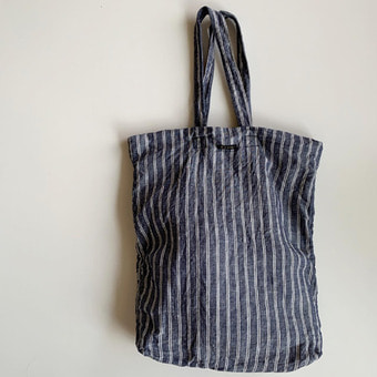 R&D.M.Co-  densely linen tote bag