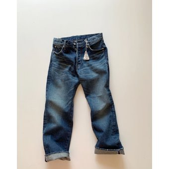 R&D.M.Co-  straight denim pants(vintage like)