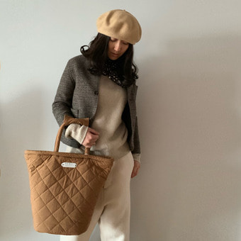 R&D.M.Co-  quilting marche bag(tall)